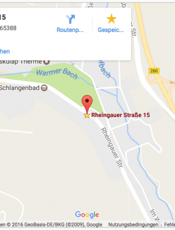 "Residenz ""Am Kurpark"" Rheingauerstr. 15"
