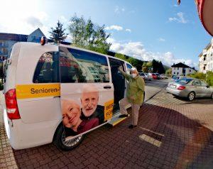 Bus Senioren Alter Mobilität Freiheit inklusive
