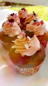 Muffins ERdbeere Muttertag Liebe Herz Schoko Kurpark