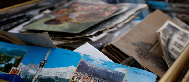 Erinnerungen gute zeiten postkarte urlaub