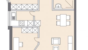 Skizze Wohnung im Alter seniorenresidenz
